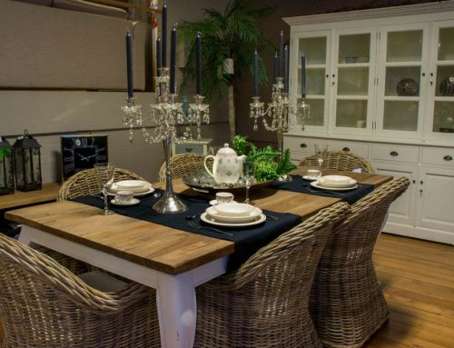 Teak tafel: nuttig en mooi