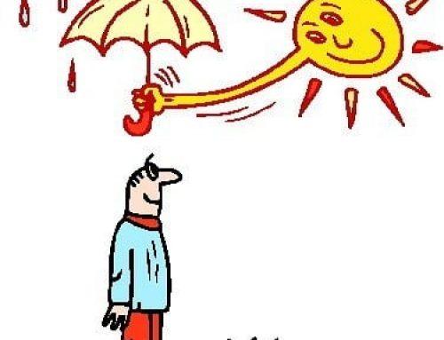 Spaar je kapsel met een zonneklep