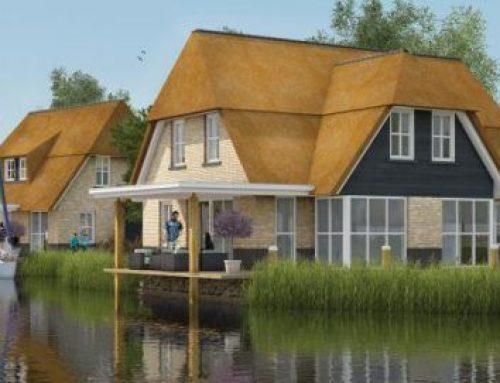 Een vakantiehuis in Friesland aan het water